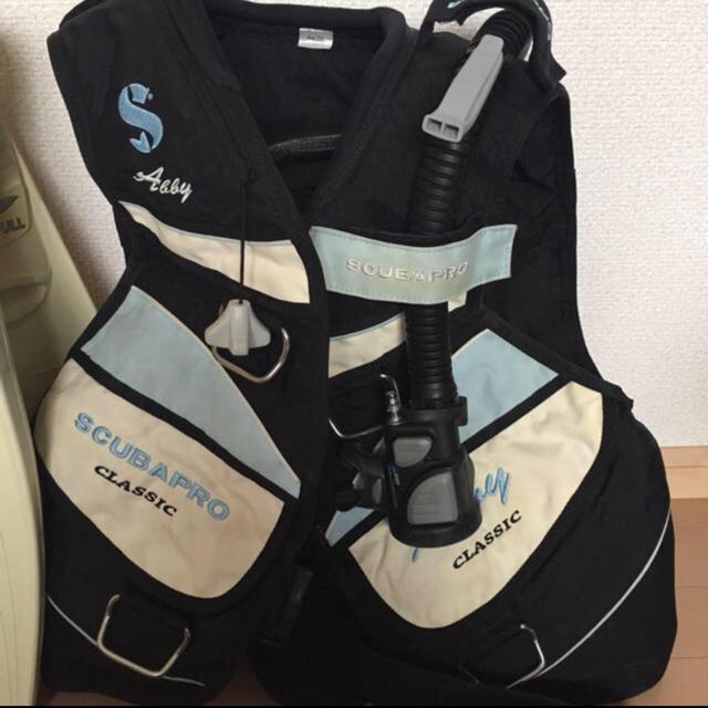 SCUBAPRO(スキューバプロ)のダイビング 重器材  セット❣️BCとレギュレータとコンパス スポーツ/アウトドアのスポーツ/アウトドア その他(マリン/スイミング)の商品写真