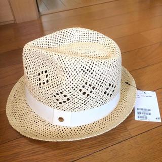 エイチアンドエム(H&M)の新品!H&Mストローハット(麦わら帽子/ストローハット)
