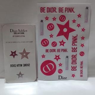 ディオール(Dior)のディオール ステラーシャイン ノベルティ ステッカー(ノベルティグッズ)