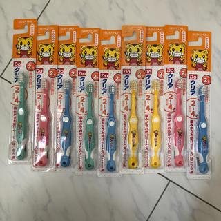 サンスター(SUNSTAR)の新品未使用 しまじろう SUNSTAR 歯ブラシ 2〜4歳用(歯ブラシ/歯みがき用品)