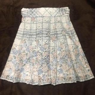 リズリサ(LIZ LISA)のレース花柄スカート(ひざ丈スカート)
