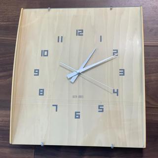 フランフラン(Francfranc)のFrancfranc 壁掛け時計 ウッドガラスクロック(掛時計/柱時計)