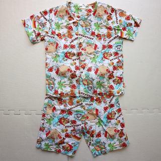 アンパンマン(アンパンマン)のアンパンマン100-110cm半袖&半ズボン 前ボタン夏パジャマ上下(パジャマ)
