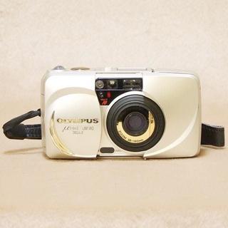 オリンパス(OLYMPUS)の☆OLYMPAUS μ(ミュー)ZOOM 140 DELUXE フィルムカメラ(フィルムカメラ)