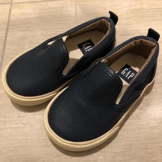 ベビーギャップ(babyGAP)のベビーギャップ  合皮靴 12.5センチ(スニーカー)