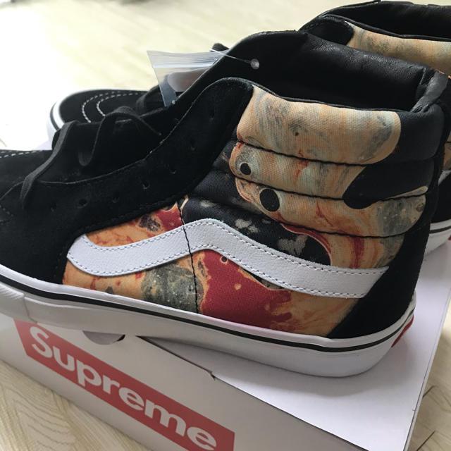 Hombre 9Us Supreme Vans Sk8-Hi 9