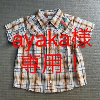 ディーゼル(DIESEL)のディーゼル  半袖シャツ  80cm(シャツ/カットソー)