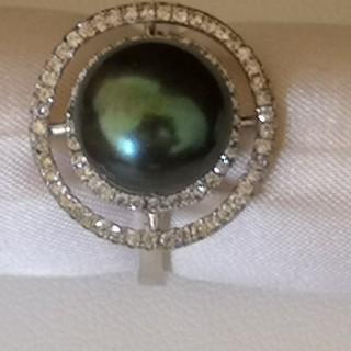 魅惑のブラックパールリング(リング(指輪))