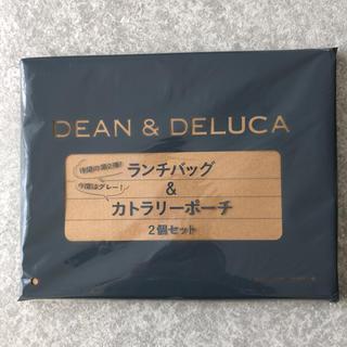 ディーンアンドデルーカ(DEAN & DELUCA)のDEAN&DELUCA ランチバッグ&カトラリーポーチ(ポーチ)