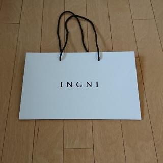 イング(INGNI)の★格安 INGNI(イング) 紙袋★(ショップ袋)