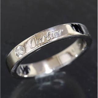 カルティエ(Cartier)のカルティエ cartier エングレーブド ダイヤリング size47 仕上済(リング(指輪))