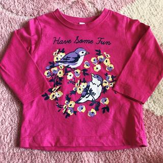 シマムラ(しまむら)のピンク 長袖Tシャツ(Tシャツ)