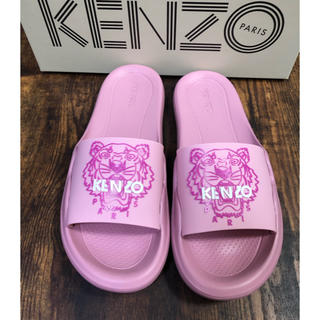 ケンゾー(KENZO)のKENZO★ タイガー ロゴシャワーサンダル★ピンク ケンゾー(サンダル)