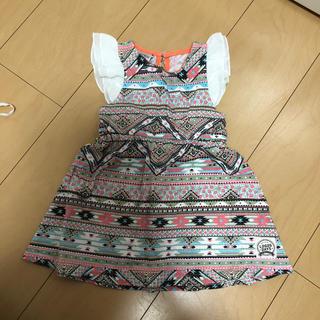 シマムラ(しまむら)のしまむら ワンピース 子供服 キッズ 女の子 80 1歳 2歳(ワンピース)