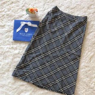 バーバリー(BURBERRY)の交渉可能 バーバリーチェックがエレガント♪バーバリースカート(ひざ丈スカート)