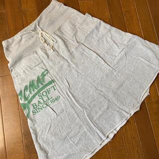オーセンティックシューアンドコー(AUTHENTIC SHOE&Co.)のauthenticスウェットスカート(その他)
