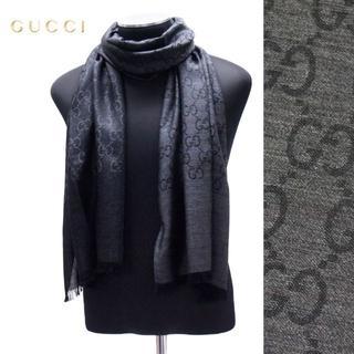 グッチ(Gucci)の【19】GUCCI グッチ マフラー/ストール 男女兼用 SILK混合(ストール/パシュミナ)