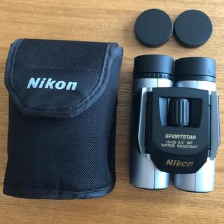 ニコン(Nikon)のNikon SPORTSTAR 10x25 6.5° WF 双眼鏡(登山用品)