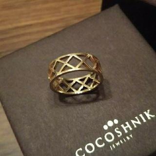 ココシュニック(COCOSHNIK)の《お値引きしました!》ココシュニック■リング■10金(K10) ボリューム(リング(指輪))
