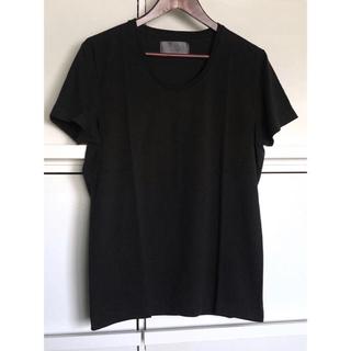 ダブルジェーケー(wjk)のwjk ブラック Uネック Tシャツ muta 1piu1uguale3 AKM(Tシャツ/カットソー(半袖/袖なし))