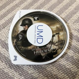 プレイステーション(PlayStation)のMEDAL OF HONOR  HEROES(携帯用ゲームソフト)