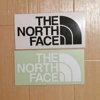 ザノースフェイス(THE NORTH FACE)のザ・ノースフェイス ステッカー 黒3枚 白3枚 セット(ステッカー)