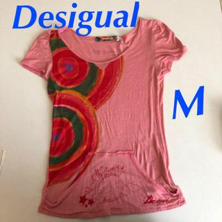 デシグアル(DESIGUAL)のDesigual ティシャツ Mサイズ(Tシャツ(半袖/袖なし))