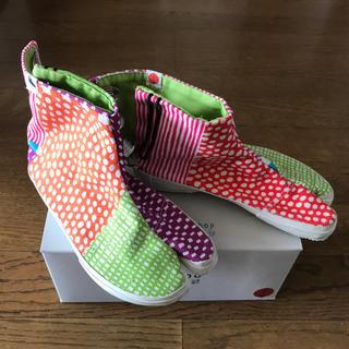 ソウソウ(SOU・SOU)のSOU・SOUこども足袋靴18センチ(スニーカー)