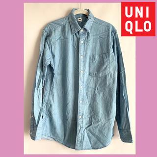 UNIQLO - UNIQLO メンズデニムシャツ