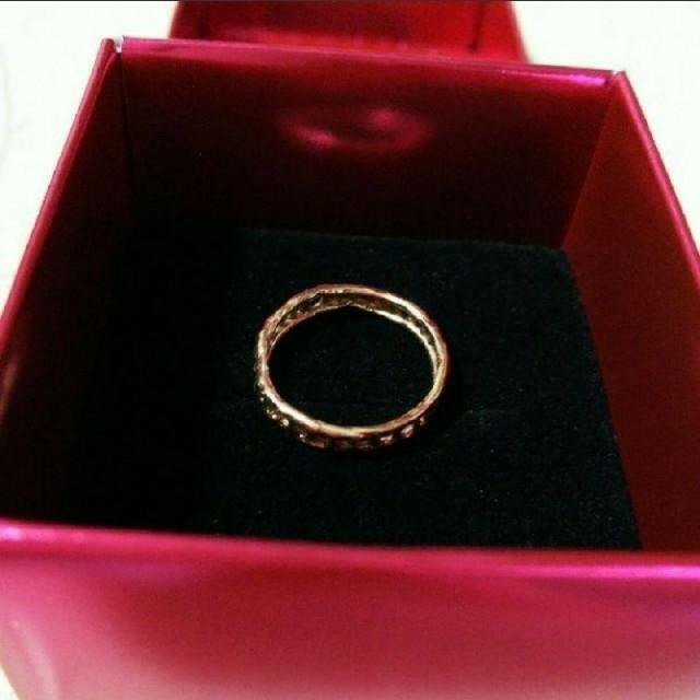 KAORU(カオル)のKAORU K10 はしごリング 4号 レディースのアクセサリー(リング(指輪))の商品写真