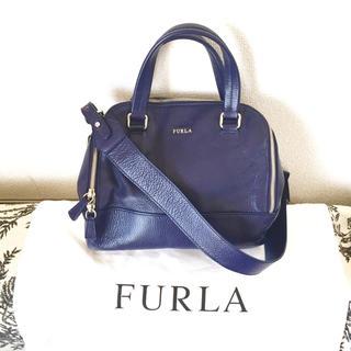 4f463cea2661 フルラ(Furla)のFURLA 本革2wayショルダーバッグ ネイビー(ショルダーバッグ)