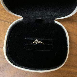 mukuさま専用です◉noguchi ピンキー リング 3号(リング(指輪))