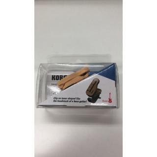 コルグ(KORG)の新品 KORG クリップ チューナー  ヘッドチューン ベース用  HT-B1(その他)