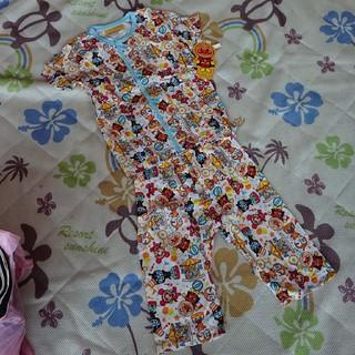 アンパンマン(アンパンマン)のアンパンマン 半袖パジャマ 腹巻き付きズボン 100(パジャマ)