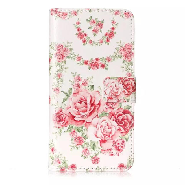 【SALE】☆iPhone7/8/XS/XR/xMAX 薔薇柄 手帳型ケース☆の通販 by ブラウン's shop|ラクマ