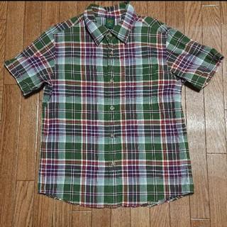 ユニクロ(UNIQLO)のユニクロ 130cm チェックシャツ(ブラウス)