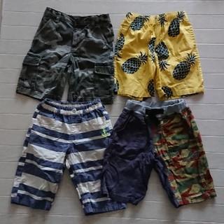 エフオーキッズ(F.O.KIDS)の男の子 130 ハーフパンツ4枚セット breeze fo (パンツ/スパッツ)