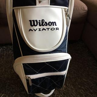 ウィルソン(wilson)の*新品*Wilson ゴルフキャリーバッグ レディース(バッグ)