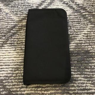 ムジルシリョウヒン(MUJI (無印良品))の無印良品 パスポート ケース ブラック(その他)