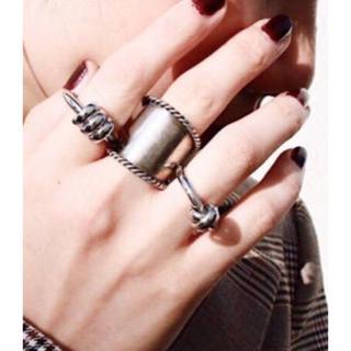 フィリップオーディベール(Philippe Audibert)のソワリー コイル silverリング(リング(指輪))