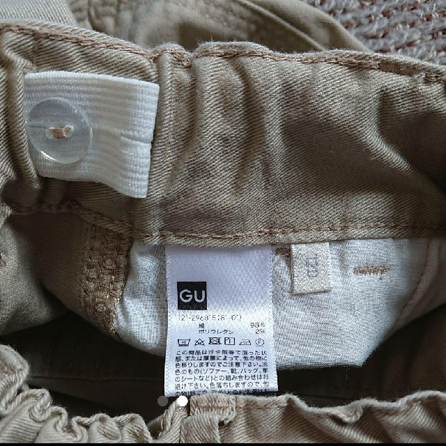 GU(ジーユー)のGU/チノパン/120 キッズ/ベビー/マタニティのキッズ服 男の子用(90cm~)(パンツ/スパッツ)の商品写真