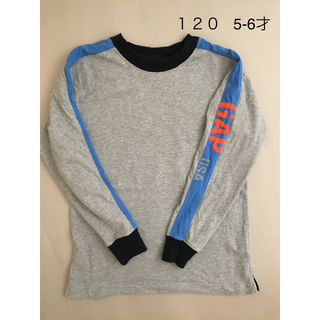 ギャップキッズ(GAP Kids)のGAP 110 長袖T 5-6才 120でも ポンポネット 長袖ポロシャツ120(Tシャツ/カットソー)