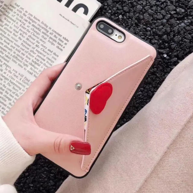 iphone8 ケース チタン / ラブレター♡  ☆新品☆  iPhoneケース  ☆  78/X.XS/XRの通販 by matsuhana's shop  |ラクマ