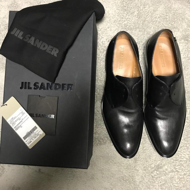 Jil Sander(ジルサンダー)の【極上品】現行品 JIL SANDER ブーツ 42 定価17万 厚底 牛革 黒 メンズの靴/シューズ(ブーツ)の商品写真