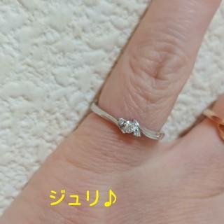 ヨンドシー(4℃)の4℃♡K18ホワイトゴールドダイヤモンドリング#6(リング(指輪))