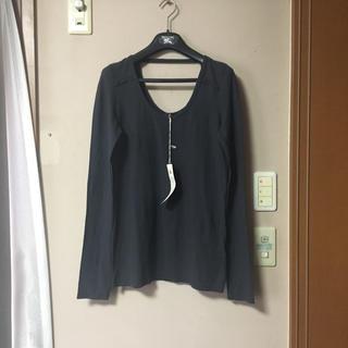 アッシュペーフランス(H.P.FRANCE)の新品、タグ付き☆io Tシャッ☆アッシュペーフランス(Tシャツ(長袖/七分))