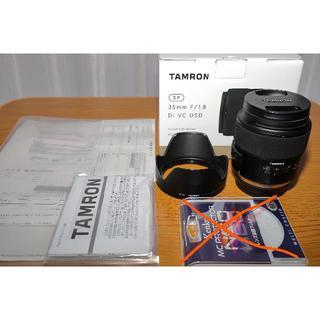タムロン(TAMRON)のTAMRON SP35mm F1.8 Di VC キヤノン用(レンズ(単焦点))