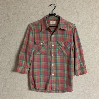 フリークスストア(FREAK'S STORE)のフリークスストア Lee チェックシャツ pink S(シャツ/ブラウス(長袖/七分))