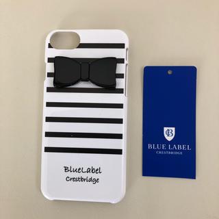 バーバリーブルーレーベル(BURBERRY BLUE LABEL)の【新品.タグ付き】♡ブルーレーベルクレストブリッジ♡アイフォンケース♡(iPhoneケース)