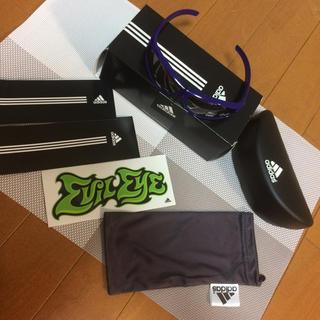 アディダス(adidas)のアディダス kids サングラス パープル(サングラス)